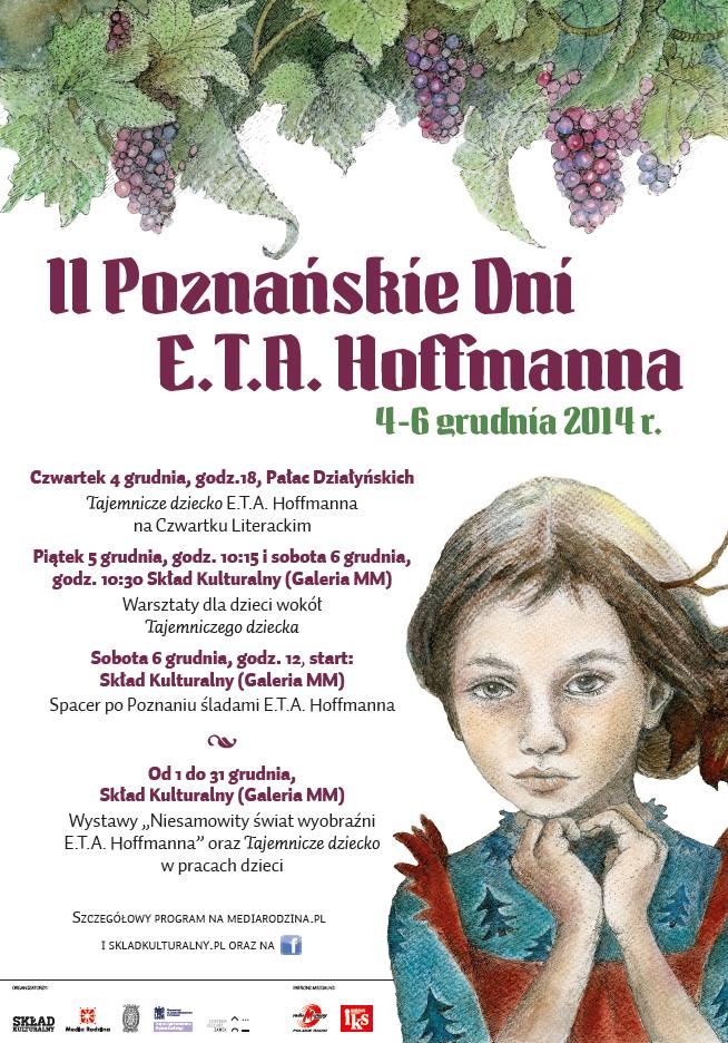 Już w grudniu II Poznańskie Dni E.T.A. Hoffmanna