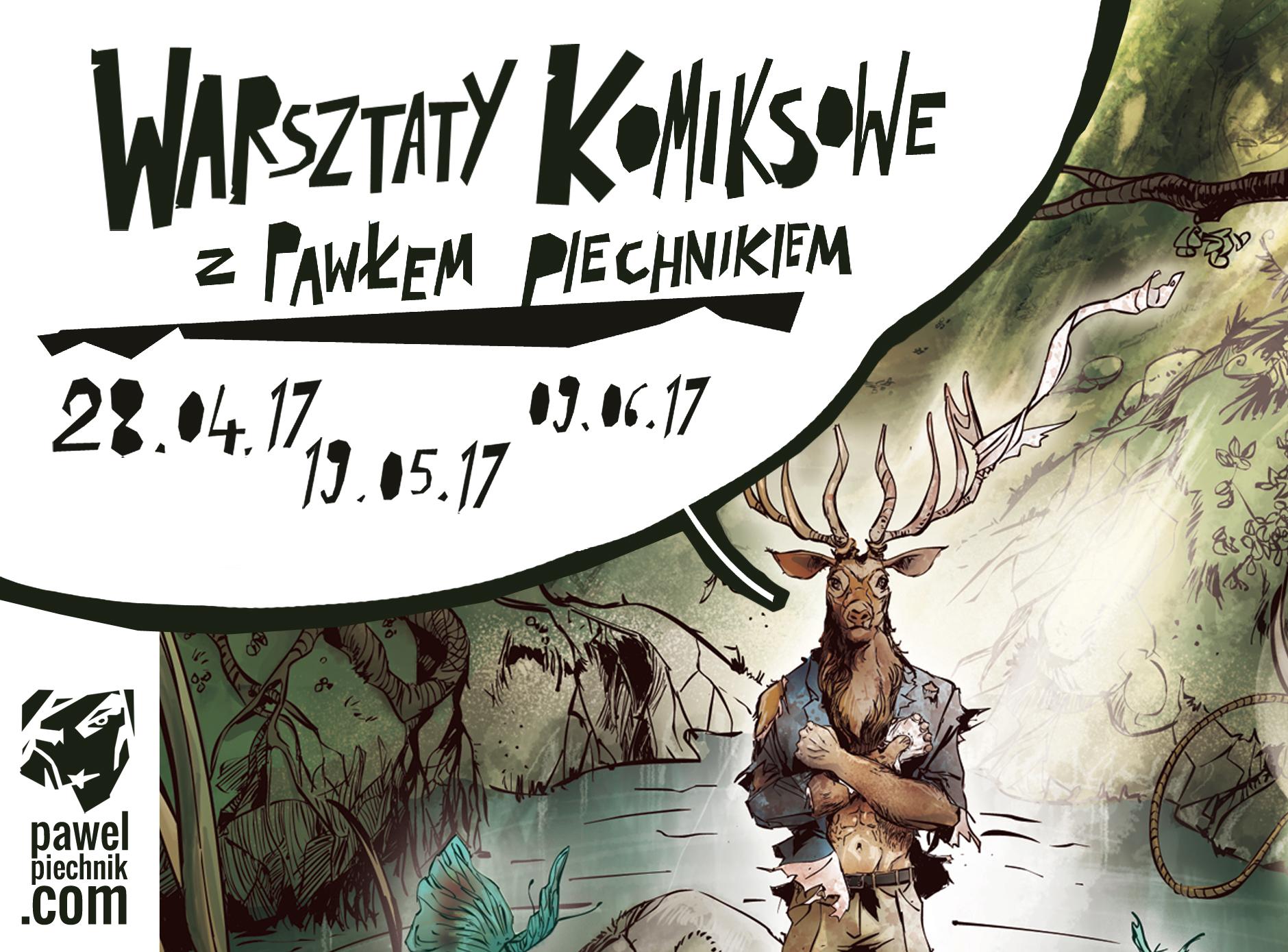 KOMIKS / nowe warsztaty w CKiBP
