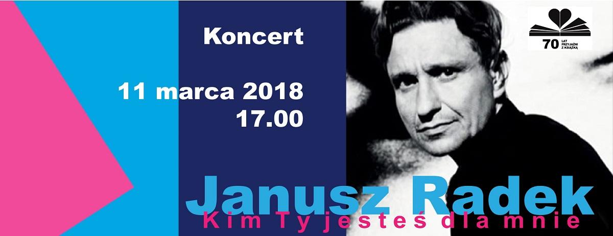 Janusz Radek Koncert Z Okazji 70 Lecia Biblioteki