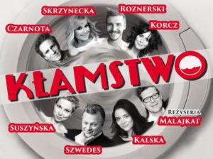 Spektakl Kłamstwo w Suchym Lesie Skrzynecka, Kalska, Roznerski i Szwedes