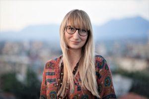 Małgorzata Rejmer polska powieściopisarka i reportażystka. Fotografię wykonała Katarzyna Lasoń.
